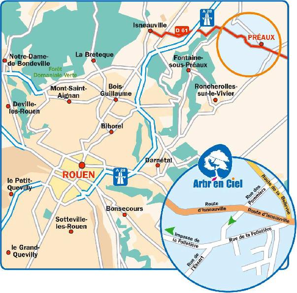 Aller au Pars de Rouen